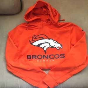 like new | Denver Broncos Nike Sweatshirt Hoodie
